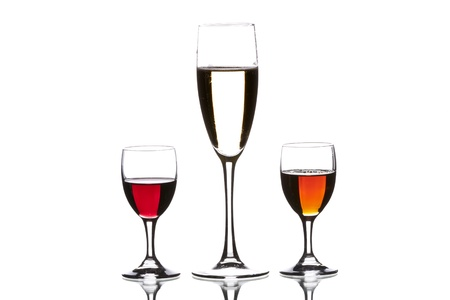 cider, wine sherry and red wine Stock Photo - 9896840