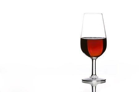 a glass of sherry, typical of Andalucia (Spain) photo