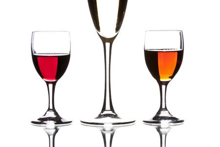 cider, wine sherry and red wine