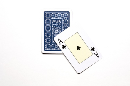 aces for a chance to win the poker game