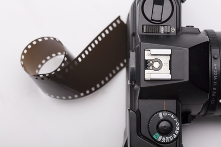 a camera of using negative photo