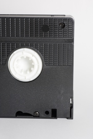 an old video tape VHS system photo