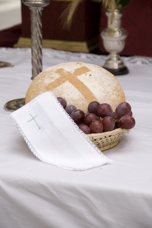 a table prepared to give a Mass