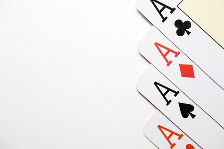 a poker of aces to win it all