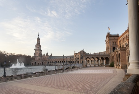 Spain Square, the heart of the universal exposition of 1929