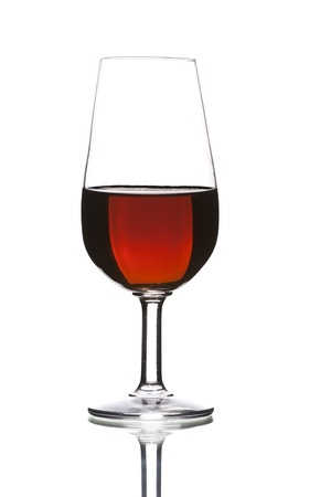 sweet wine by the glass sherry, typical of Jerez photo
