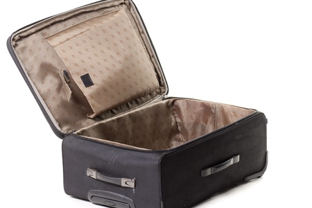 a black suitcase, ready for use Stock Photo - 13250770