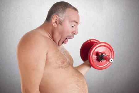 obeso: una dieta rica en grasas durante la pr�ctica deportiva