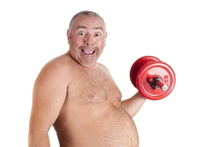 a fat diet during sports Stock Photo