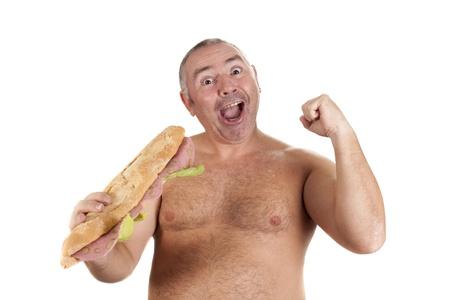 Бутерброды для очень голодных людей :)