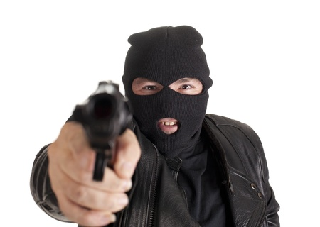 a thief committing a robbery Stock Photo - 15617262