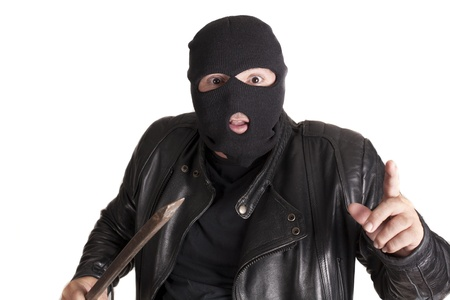 a thief committing a robbery Stock Photo - 15617265