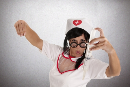 a pretty nurse, ready to care for their patients Stock Photo - 16168861