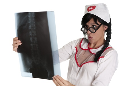 a pretty nurse, ready to care for their patients Stock Photo - 16168858