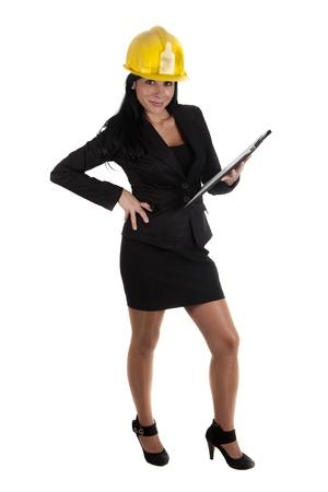 one female boss of work Stock Photo - 16168849