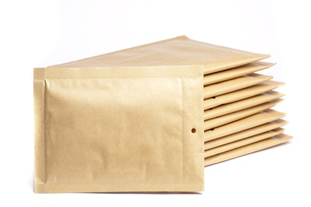 several package, ready to ship Stock Photo