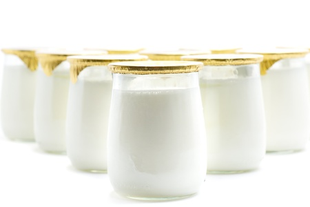 a yogurt, a healthy and delicious dessert