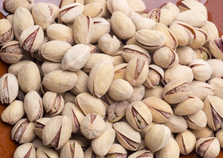 pistachios, a very healthy nut and many vitamins Stock Photo - 18370018