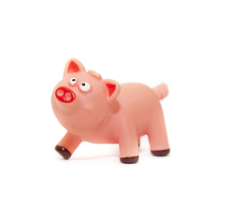 a small toy pig Stock Photo - 18514889