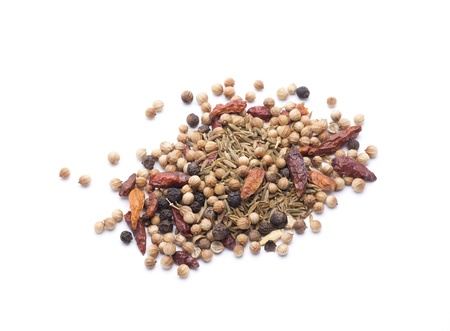 spices are essential for some meals, each culture uses its traditional spices Stock Photo - 18514920