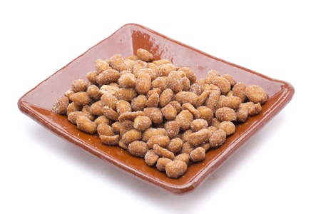 nuts as snacks to dinners and meetings Stock Photo - 18514949