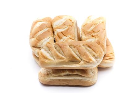 especially: pieces of bread baked especially for children