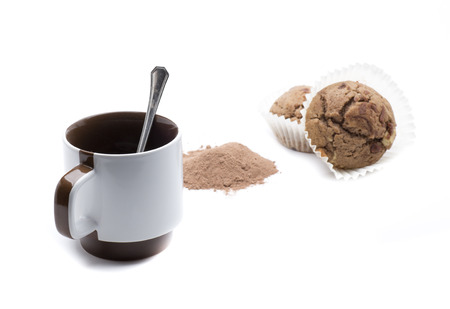 a cup of coffee for breakfast or a snack