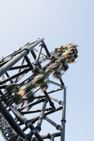 a rollercoaster, for people who likes strong emotions photo