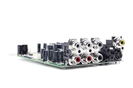 rca: connettori RCA per l'audio stereo e video Archivio Fotografico