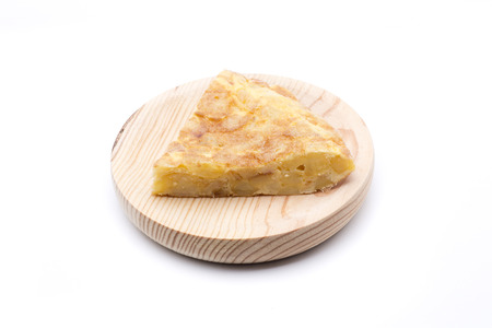 Spanish omelette, the most typical food in Spain Stock Photo