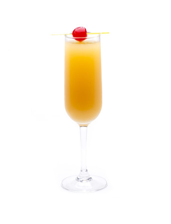 bellini: one of the most famous cocktails in the world, bellini Stock Photo
