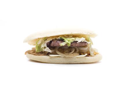 productos naturales: Con una hamburguesa casera Productos naturales