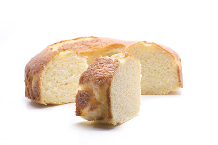 a delicious homemade cake with round shape