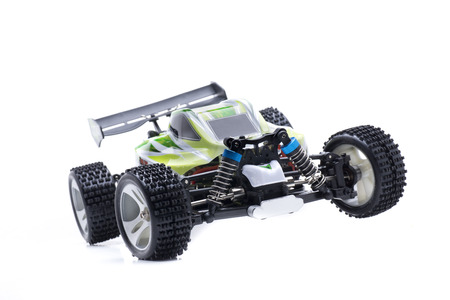 Small remote control car electric buggy Banque d'images