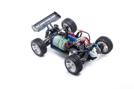 Small remote control car electric buggy Stock Photo