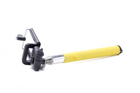 an extendable selfie stick, for taking photos Stockfoto