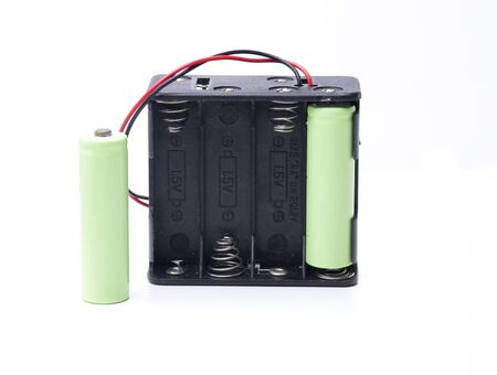 AA size battery holder to supply power to any equipment