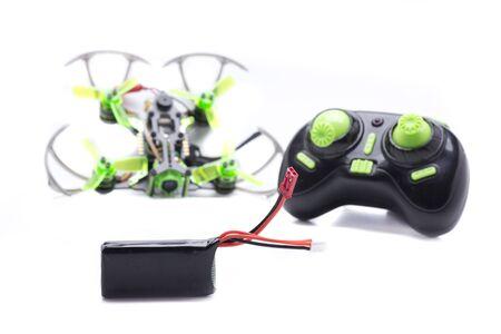 micro drone racing with camara fpv Reklamní fotografie