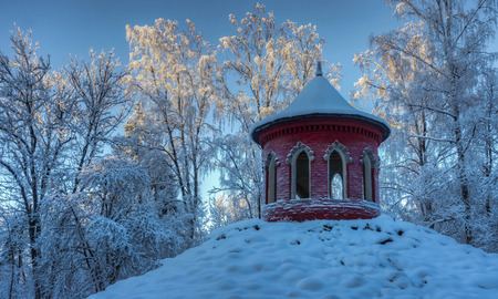 summerhouse: red summerhouse