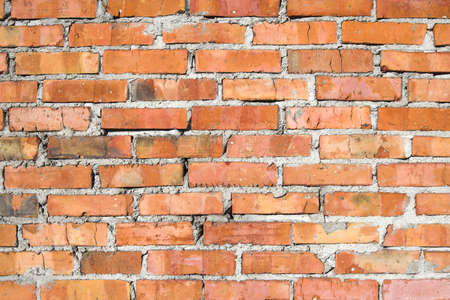 stoneworks:  A grungy red brick wall texture  background II Stock Photo