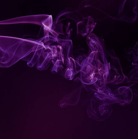 mild: Smoking flames-An abstract shape of smoking flame with colours