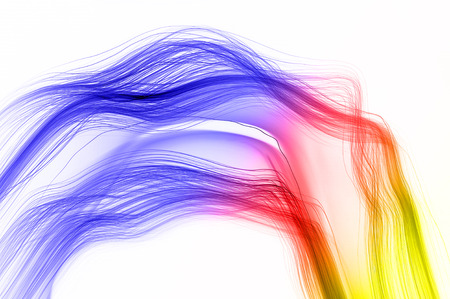 pulsar: Abstract light that flows into the space Stock Photo