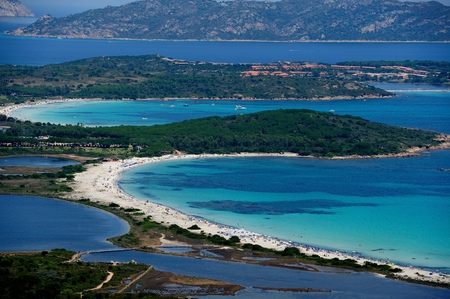 beach landscape: Brandinchi beach landscape