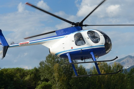 breda: Helicopter flying in the sky