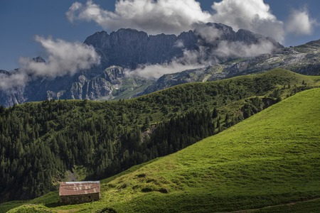panoramic view of a mountains in the north of Italy Zdjęcie Seryjne