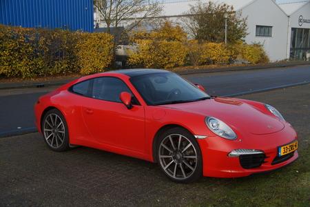 Red Porche 911 - luxury car