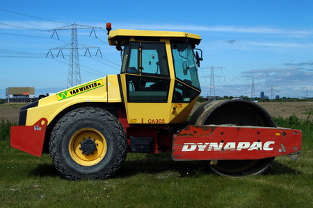 compaction: Steel Wheel Pavement Roller Dynapac Compaction Equipment