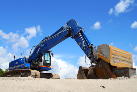 earthmover: Crawler Excavator Crane earthmover mechanical digger