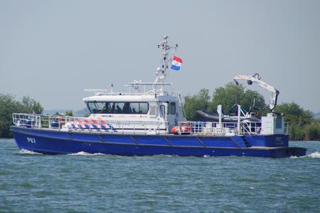 watercraft: Dutch Police Boat P87 Damen Stan Patrol 2505 watercraft Editorial