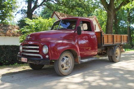 cami�n de reparto: 1950 camioneta - Opel Blitz 1.75T